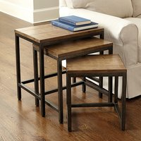 Rectangular Three Pieces Nesting Table