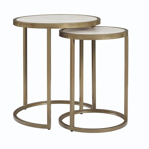 Nesting Table Round Set Of Two