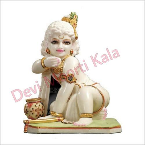 Marble Bal Laduu Krishan Gopal Idol