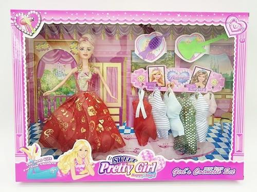 solid body doll set