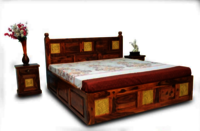 SHEESHAM WOODEN BED