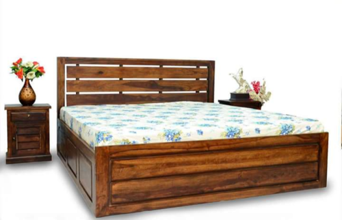 BD03 SHEESHAM WOODEN BED