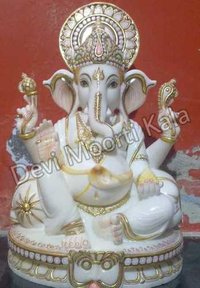 Ganesh Marble Moorti idols