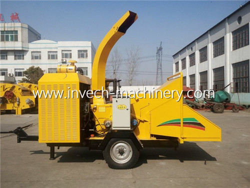Movable Wood Chipping Machine For Forestry