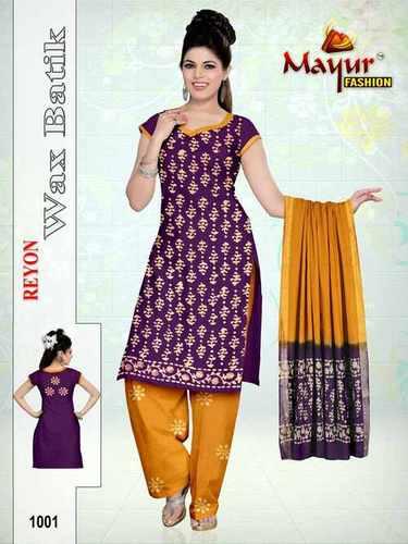 Pure Reyon Wax batik Dress
