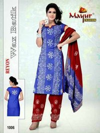 Batik Print Dress Materials