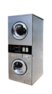 Coin Operated Washing & Drying Stacker Machine