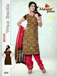 Fancy Reyon Wax Batik Dress