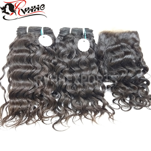 Curly Indian Hair Natural Wave Hair