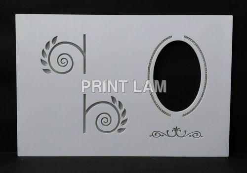 Acrylic Photo Album Cover