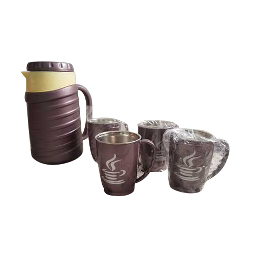 5 Pieces Insulated Tea Jug Set