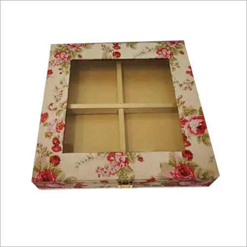 Floral Printed Dry Fruit Box