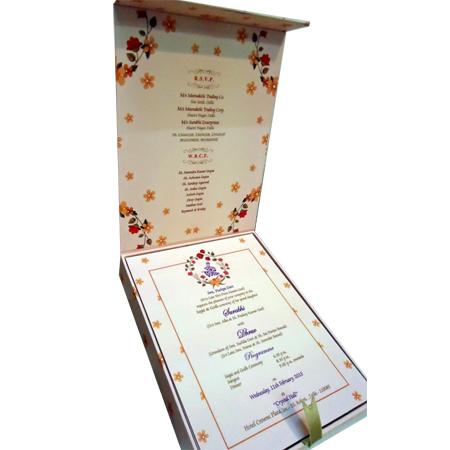 Digital Print Wedding Box