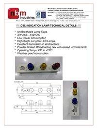 DSL Indication Lamp (PHASE Indicator Lamp)