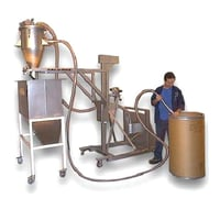 Mobile Vacuum Conveying System