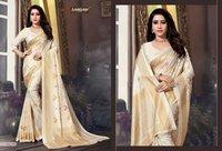 White Silk Sarees