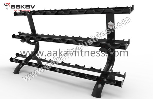 Dumbbell Rack (12 Pair)  X5 Aakav Fitness