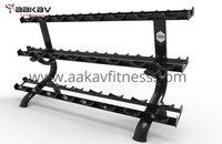 Dumbbell Rack (12 Pair)  X5 Aakav Fitness
