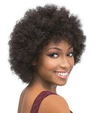 Afro Wig Human Hair