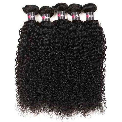 Deep Curly Virgin Indian Temple Hair Bundle