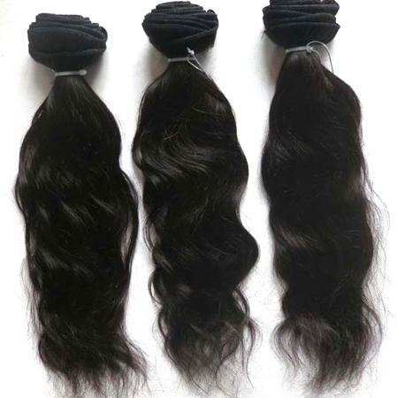Human Temple Hair Bundle