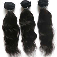Human Temple Hair Bundle