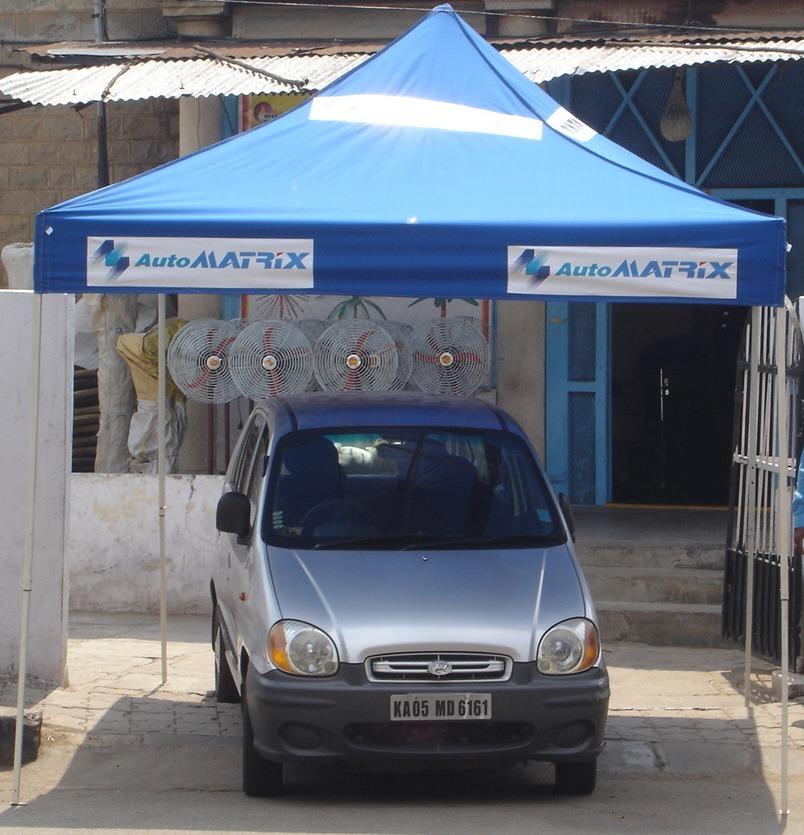 Blue Gazebo Tent