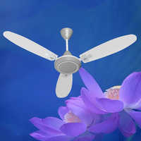 White Concord Gray Ceiling Fan