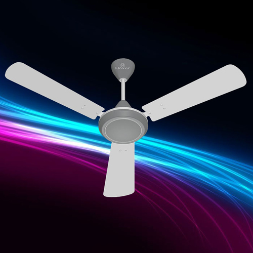 White Gray Ceiling Fan