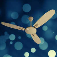 Desert Sandy Brown Ceiling Fan