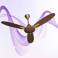 Fawn Gold Ceiling Fan