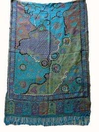 viscose jamawar shawls