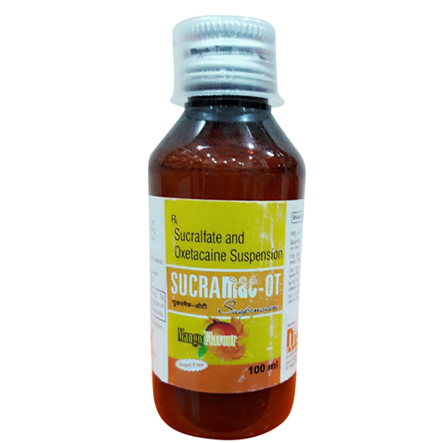 100 ml Oxetacaine Suspension Syrup