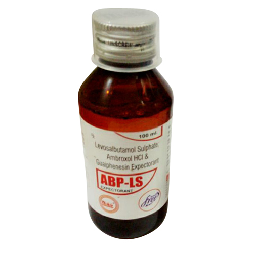 100 ml Levosalbutamol Syrup Sulphate Ambroxol HCI
