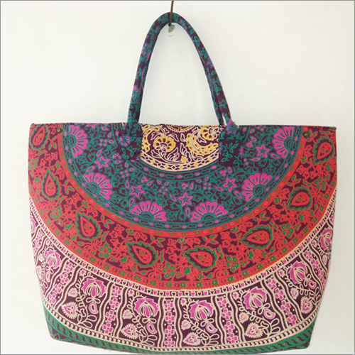 Colorful Paradise Mandala Women Tote Bag
