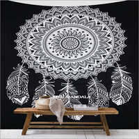 Dream Catcher Mandala Tapestry Wall Hanging Queen Wall Tapestry