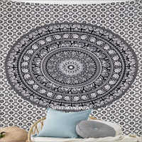 Hippy Throw Mandala Tapestry Wall Hanging