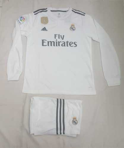 Real Madrid football jersey 2018-19