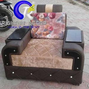 Sofa with stand