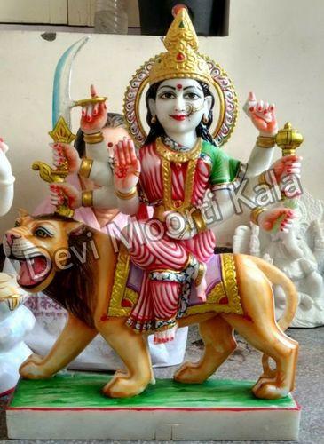 Marble Durga Idols