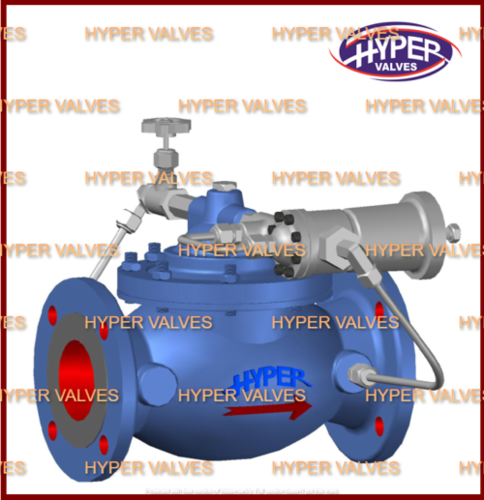 Back pressure sustaining valve