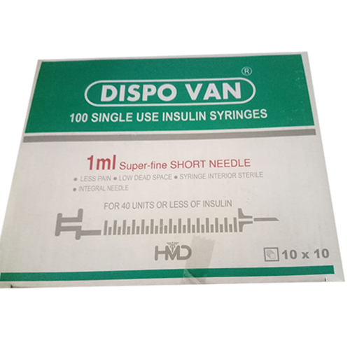 1 ML Insulin Syringe