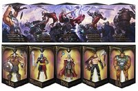 MARVEL LEGENDS BATTLE FOR ASGARD SET