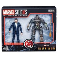 Hasbro Marvel Legends 10th Anniversary Iron Man Tony Stark & MK1 Set