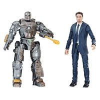 Hasbro Marvel Legends 10th Anniversary Iron Man Tony Stark & MK1 Set
