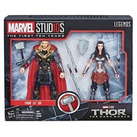 Hasbro Marvel Legends 10th Anniversary Thor & Sif Set NEW Dark World