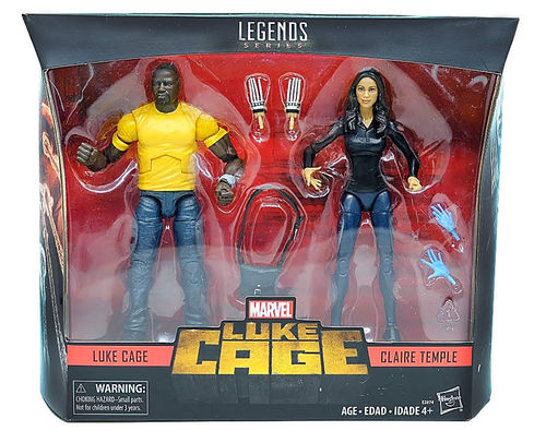 Hasbro Marvel Legends  Luke Cage & Claire Temple