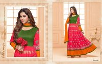 Digital Printed Anarkali Suits