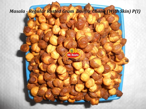 Masala Rosted Chana Gram Daliya With Skin