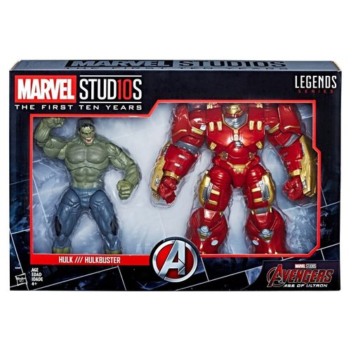 Hasbro Marvel Legends Avengers Hulk & Hulkbuster sets